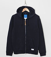 adidas Originals Blue Plain Full Zip Hoody