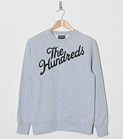 The Hundreds Slant Logo Sweatshirt