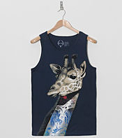 Rook Neck Tattoo Vest