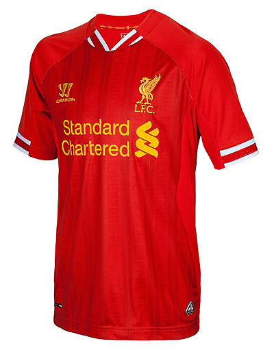 Warrior Sports Liverpool Home Shirt 2013/14 Junior