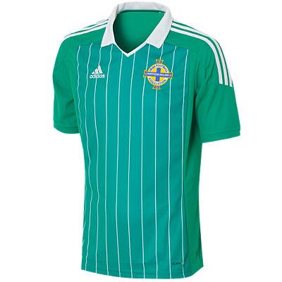 adidas Northern Ireland Home Football Shirt 201213