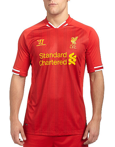 Warrior Sports Liverpool Home Shirt 2013/14