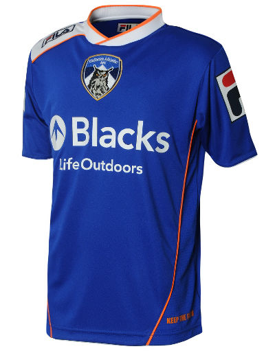 Fila Oldham Athletic 2013/14 Junior Home Shirt
