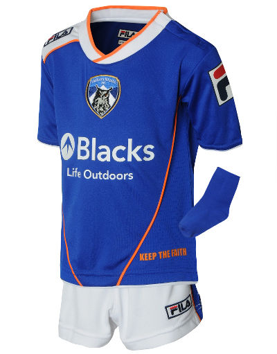 Fila Oldham Athletic 2013/14 Baby Home Kit