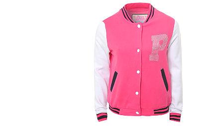 Ebay Fashion Coupon on Pauls Boutique Varsity Sweat Jacketwith Cashback From Bank Fashion