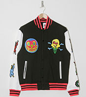 ICECREAM Dropout Varsity Jacket