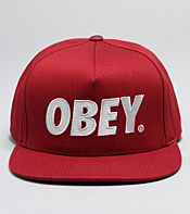 Obey City Snapback Cap