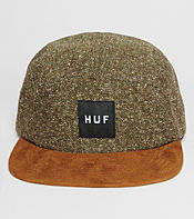 HUF Tweed 5 Panel Cap