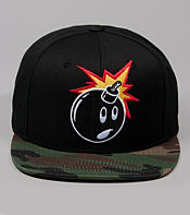 The Hundreds Adam Camo Snapback Cap