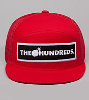 The Hundreds Corners Mesh Snapback Cap
