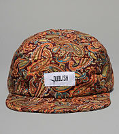 Publish Seely Paisley 5 Panel Cap