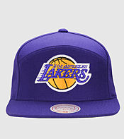 Mitchell & Ness 6 Panel Basic Snapback Cap