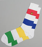 Lyle & Scott Multi Stripe Sock