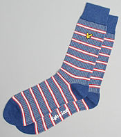 Lyle & Scott Jacquard Sock