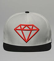 Diamond Supply Rock Logo Snapback Cap