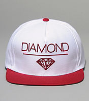 Diamond Supply Whitespace Snapback Cap