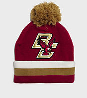 Mitchell & Ness Boston College NCAA Stripe Bobble Hat