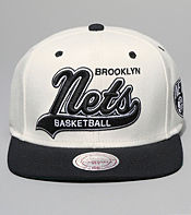 Mitchell & Ness Brooklyn Nets Snapback Cap