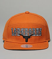 Mitchell & Ness Texas Longhorns Blocker Snapback Cap