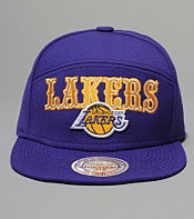 Mitchell & Ness Lakers Blocker 6 Panel Cap - size? exclusive