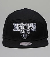 Mitchell & Ness Blocker NBA Brooklyn Nets Snapback Cap