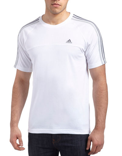 adidas 3 Stripe Essentials T-Shirt
