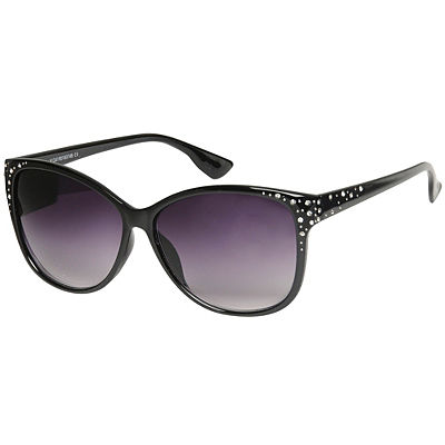 a8696d70b7 Millie Wayfarer Diamante Sunglasses