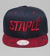 Staple Design x Mitchell & Ness Cheetah Snapback Cap