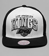 Mitchell & Ness Pinwheel Los Angeles Kings NHL Snapback Cap