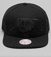 Mitchell & Ness Wool Chicago Blackhawks NHL Snapback Cap