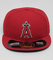New Era Authentic Los Angeles Angels MLB Fitted Cap