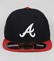 New Era Authentic Atlanta Braves 59FIFTY Fitted Cap