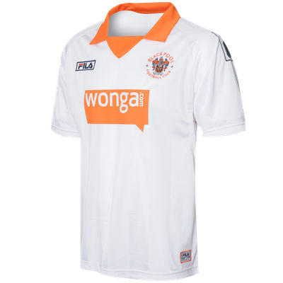 Fila Blackpool Away Shirt 2011/12