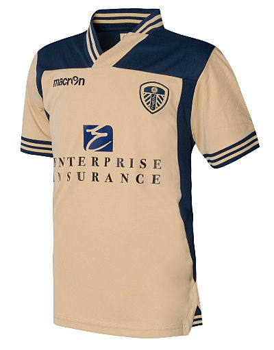 Macron Leeds United 2013/14 Away Shirt Junior