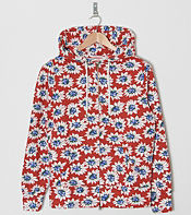 Franklin & Marshall Lotus Flower Full Zip Hoody