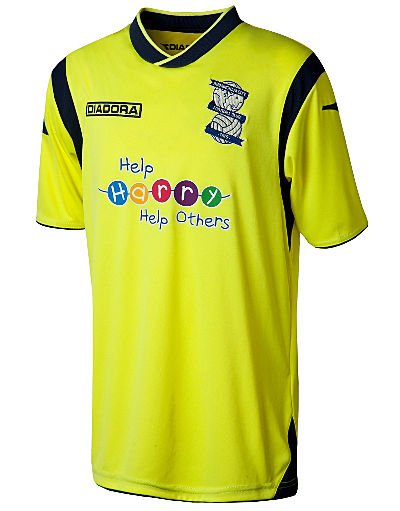Diadora Birmingham City 2013/14 Junior Away Shirt