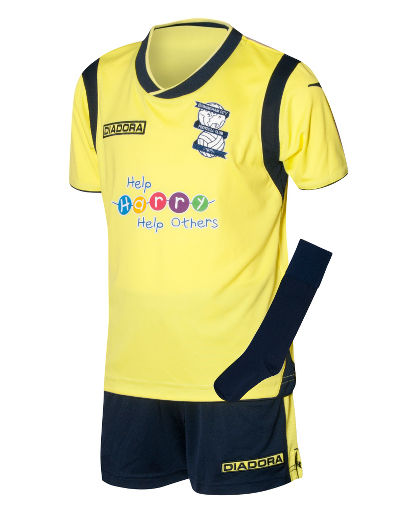 Buy Diadora Birmingham City 2013/14 Infants Away Kit
