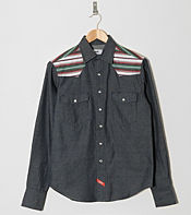 Durkl Long Sleeved Salton Denim Shirt