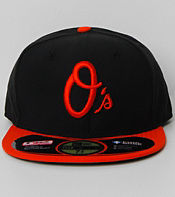 New Era Authentic Baltimore Orioles 59FIFTY Fitted Cap