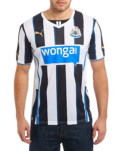 Puma Newcastle United 2013/14 Home Shirt