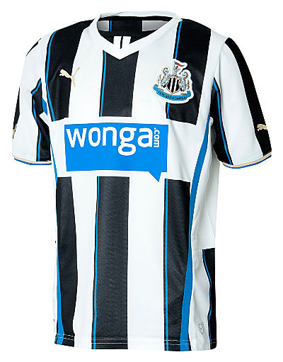 Puma Newcastle United 2013/14 Junior Home Shirt