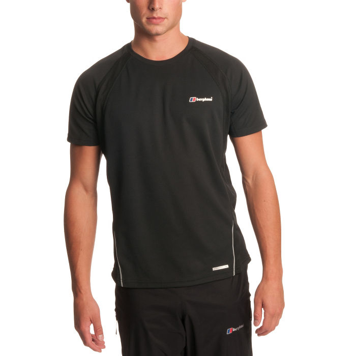 Mens Active Fit SS Crew Neck T-Shirt