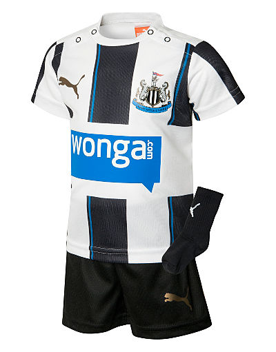 Puma Newcastle United 2013/14 Infant Home Kit