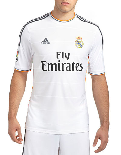 adidas Real Madrid 2013/14 Home Shirt