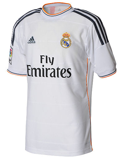 adidas Real Madrid 2013/14 Junior Home Shirt