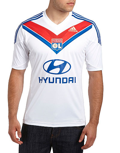adidas Lyon 2013/14 Home Shirt