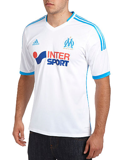 adidas Olympique Marseille 2013/14 Home Shirt