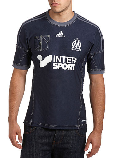 adidas Olympique Marseille 2013/14 Away Shirt