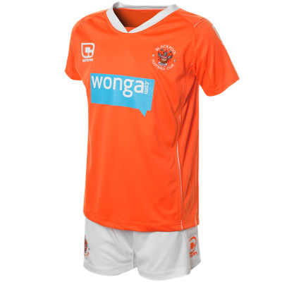 Carbrini Blackpool Home Kit 2010/11 Childrens