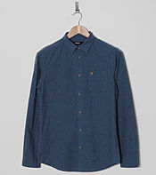 Farah Vintage Beatty Fleck Long Sleeve Shirt